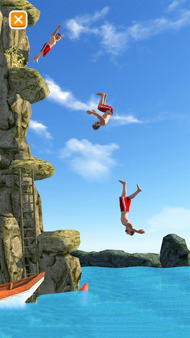 悬崖花样跳水