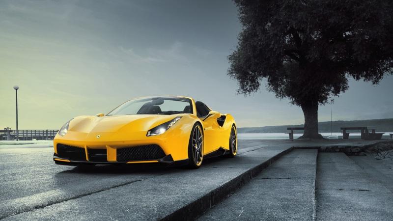 黄色豪车超跑高清壁纸