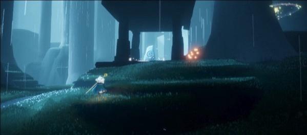 光遇荧光森林冥想位置