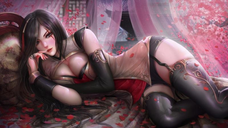 性感动漫美女超清壁纸